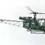 Alouette 2 F-BIFK Protection civile en 1961 ou 62 - Photo DR