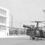 Alouette 2 F-ZBAK (Dragon 06) de la Protection civile stationnée à l'aéroport (...)
