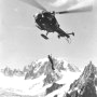 Treuillage avec l'Alouette III JBL- Photo © ? - Collection JMP