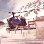 Alouette II F-MJBA Gendarmerie en approche - Photo DR collection C. (...)