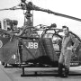 Alouette 2 F-MJBB de la Section Aérienne d'Amiens en 1977 - Photo (...)