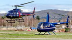 AS 350 et R66 - Photo © Patrick Gisle