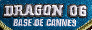 Patch Dragon 06 Base de Cannes- Photo DR