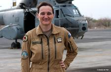 Le lieutenant-colonel Isabelle Guyader -Photo Armée de l'air