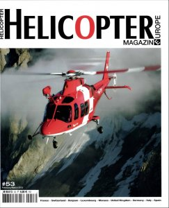 Couverture de Helicopter Magazine n°53