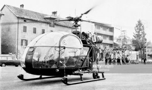 Alouette II F-MJAW - Photo Keystone France Getty Images