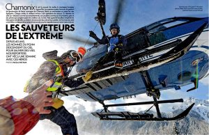 Article publié dans Paris Match N°3589 - Photo Pascal Rostain