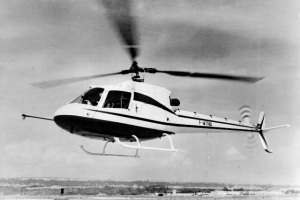 Le prototype AS350-001 immatriculé F-WTNB qui effectua son premier vol le 27 juin 1974 - Photo Airbus Helicopters