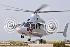 Le X3 F-ZXXX d'Eurocopter -Unis - Photo Eurocopter